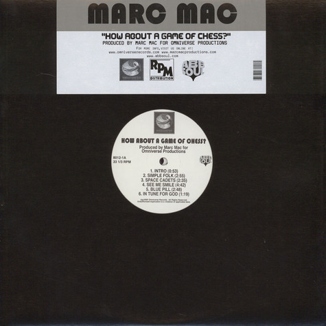 Marc Mac of 4 Hero - How About A Game Of Chess
