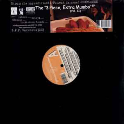 Storm The Unpredictable, Priest Da Nomad & Poem-Cees - The 3 piece, extra mumbo EP volume 2