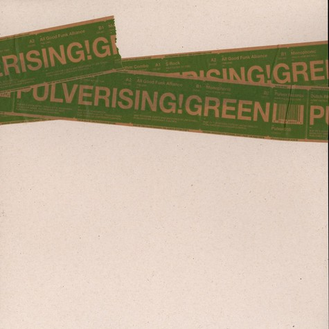 Pulver Records - Pulverising green EP