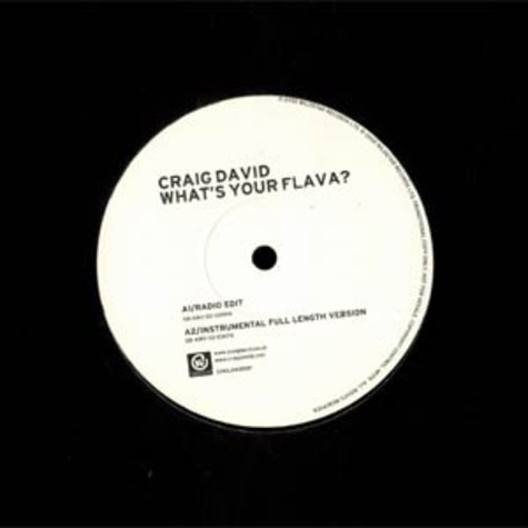 Craig David - What's your flava feat. Twista