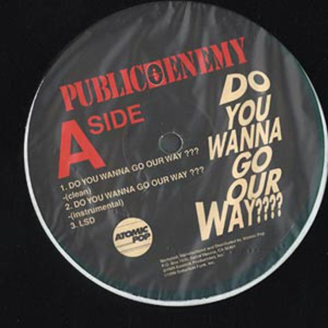 Public Enemy - Do you wanna go our way
