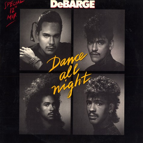 DeBarge - Dance all night