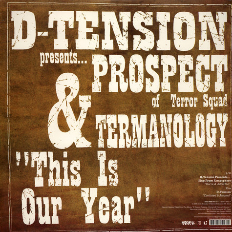 D-Tension - You're A Bitch Too feat. Slug of Atmosphere