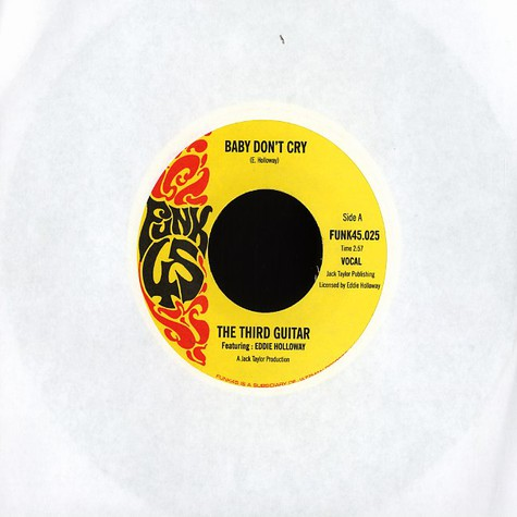 Third Guitar & Eddie Holloway - Baby dont cry