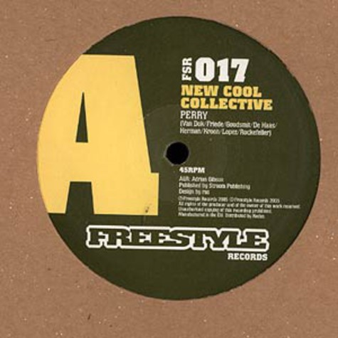 New Cool Collective - Perry