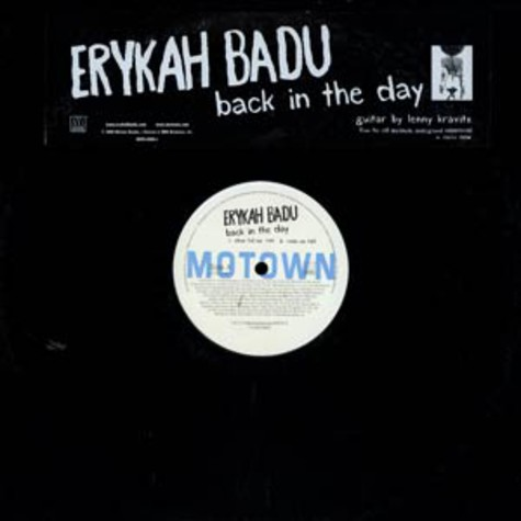Erykah Badu - Back in the day