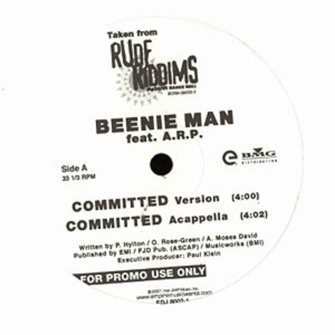 Beenie Man / Fiona - Committed feat. ARP / Drive me crazy