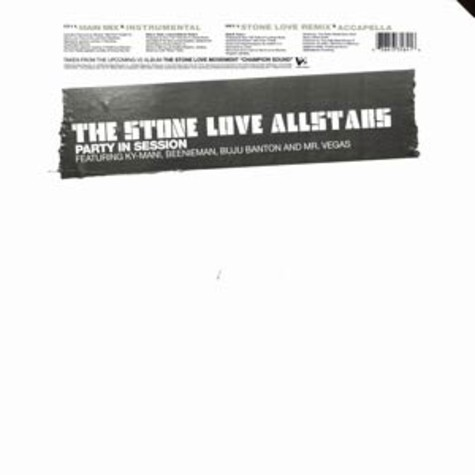 Stone Love Allstars, The - Party in session