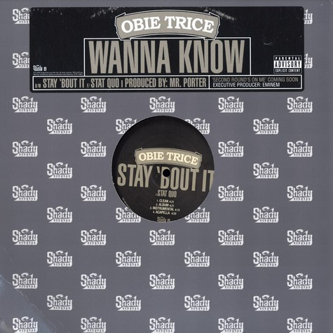 Obie Trice - Wanna know