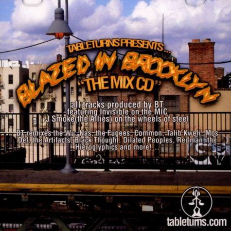 Tableturns presents - Blazed in Brooklyn - the mix cd