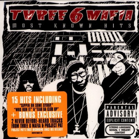 Three 6 Mafia - Most known hits