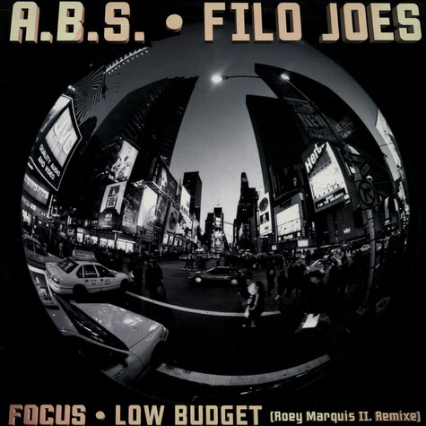 ABS / Filo Joes - Focus / Low Budget - Roey Marquis Remixe