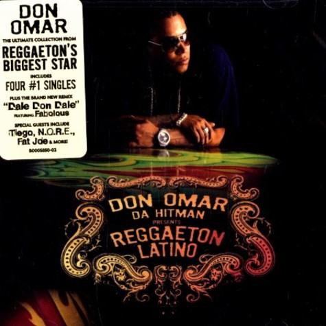 Don Omar Da Hitman presents - Reggaeton latino