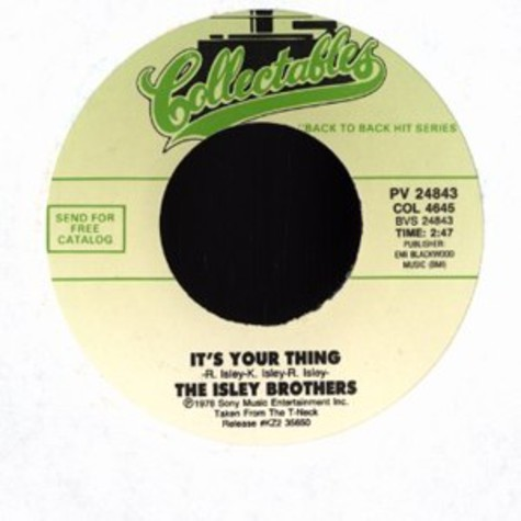 Isley Brothers, The - It's your thing