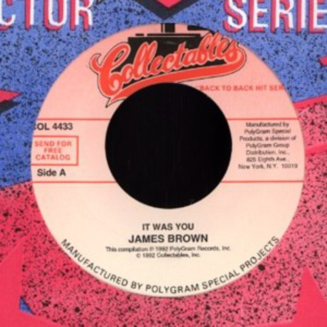 James Brown - It was you