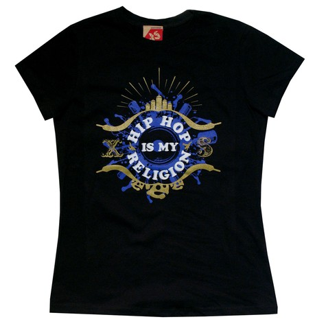Exact Science - Hip hop is my religion Women T-Shirt