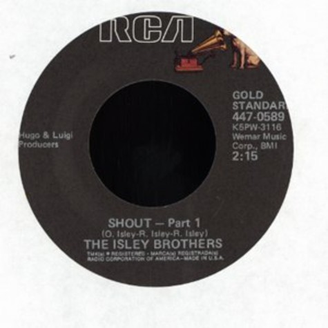 Isley Brothers, The - Shout pt. 1