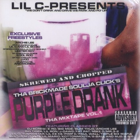 Lil C - Purple drank mixpae - skrewed and chopped