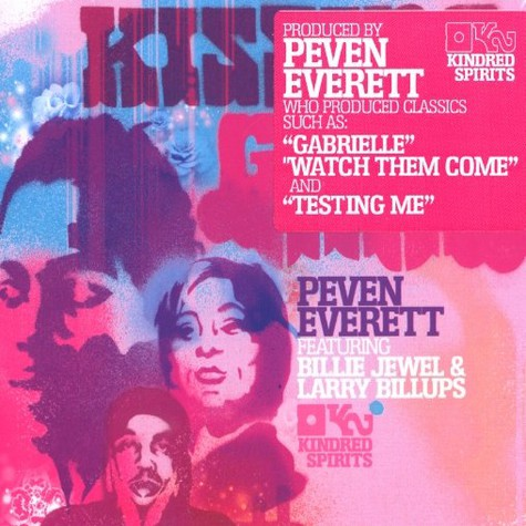 Peven Everett with Billie Jewel & Larry Billups - Kissing game