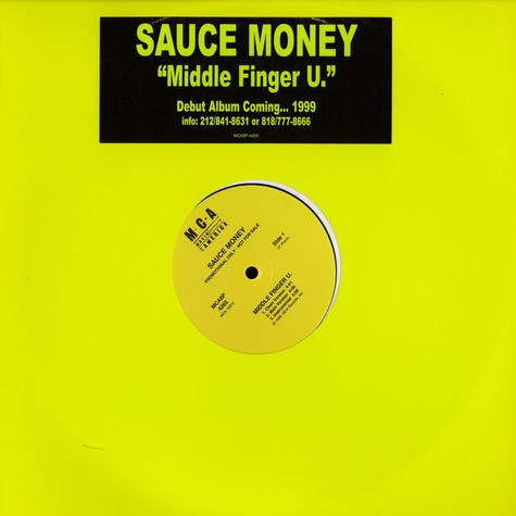 Sauce Money - Middle finger u.