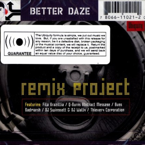 Better Daze - Remix project