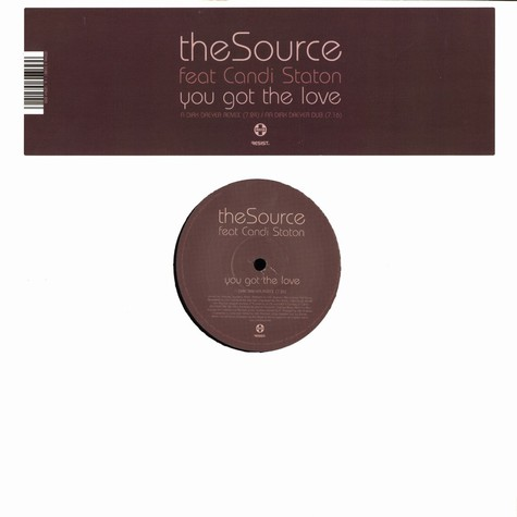 Source, The - You got the love feat. Candi Staton Dirk Dreyer remix