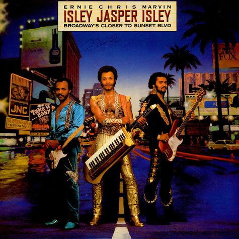 Isley Jasper Isley - Broadway's Closer To Sunset Blvd.