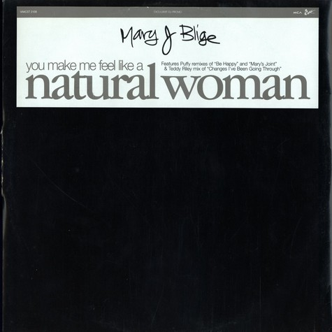 Mary J.Blige - (You make me feel like a) natural woman