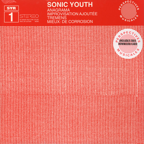 Sonic Youth - Anagrama EP