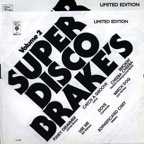 Super Disco Brakes - Volume 2