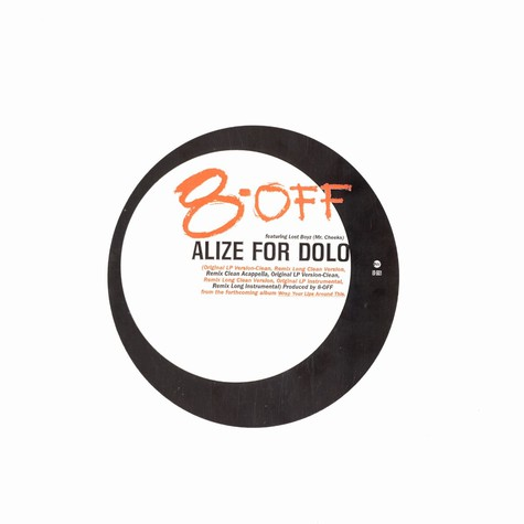 8-Off - Alize for dolo feat. Lost Boys