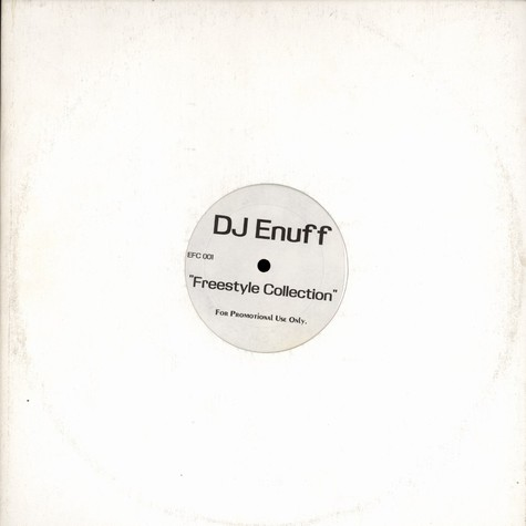 DJ Enuff - Freestyle collection