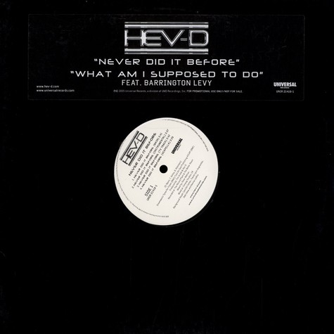 Hev-D - Never did it before