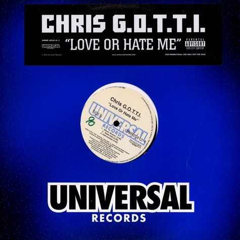 Chris G.O.T.T.I. - Love or hate me