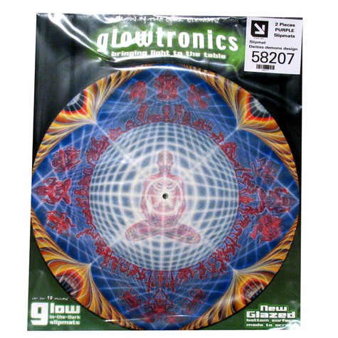 Glowtronics - Deities Demons Glow In The Dark Slipmat