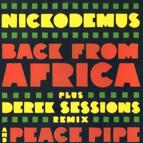 Nickodemus - Back from africa feat. Mitch Stein