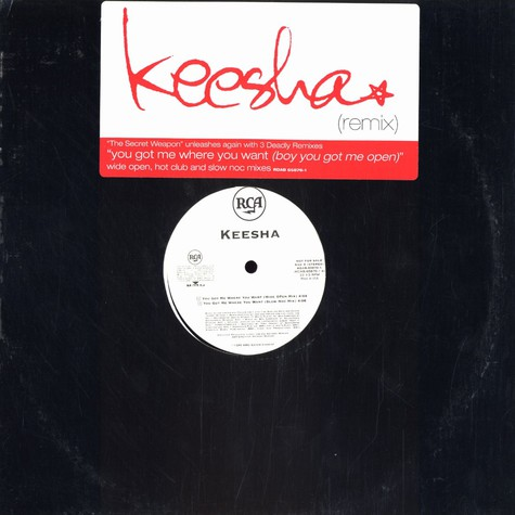 Keesha - You got me where you want remix