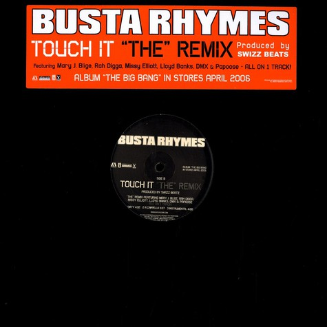 Busta Rhymes - Touch it remixe feat. Mary J.Blige, Rah Digga, Missy Elliott, Lloyd Banks, Papoose & DMX