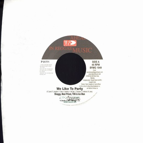 Shaggy, Maxi Priest, T.O.K. & Ice Man - We like to party