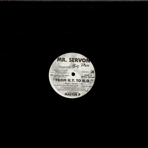 Mr. Serv-On - From N.Y. To N.O.