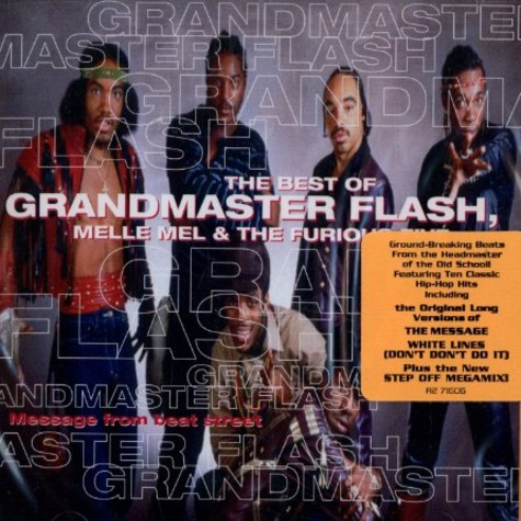 Grandmaster Flash, Melle Mel & The Furious Five - Message from beat street