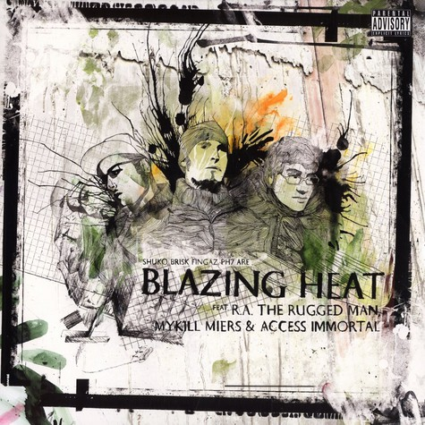 Blazing Heat (Shuko, Brisk Fingaz & Ph7) - Supah feat. R.A. The Rugged Man