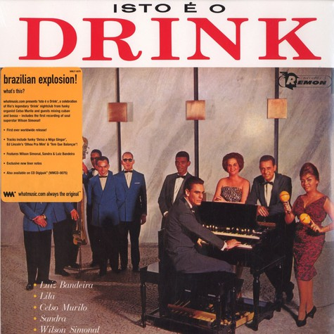 Celso Murilo & Conjunto Drink - Isto é o Drink