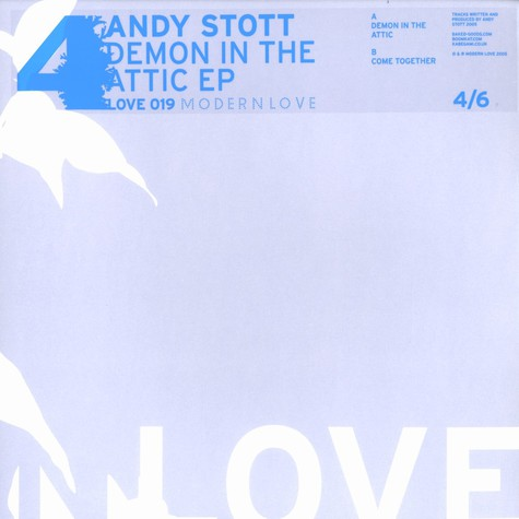 Andy Stott - Demon in the attic EP