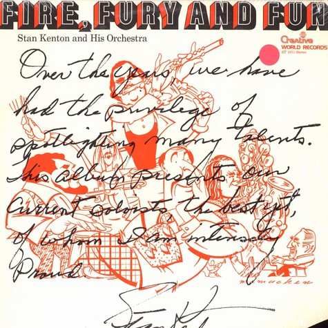 Stan Kenton and his Orchestra - Fire, fury and fun