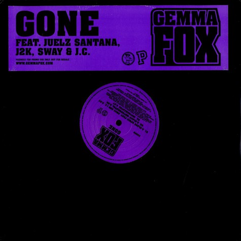 Gemma Fox - Gone feat. J2K