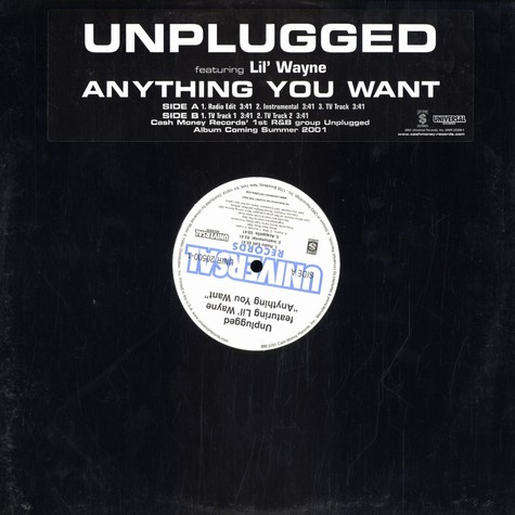 Unplugged - Anything you want feat. Lil Wayne