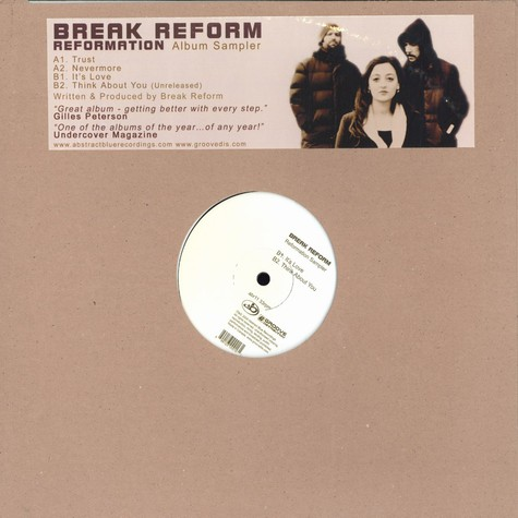 Break Reform - Reformation album sampler