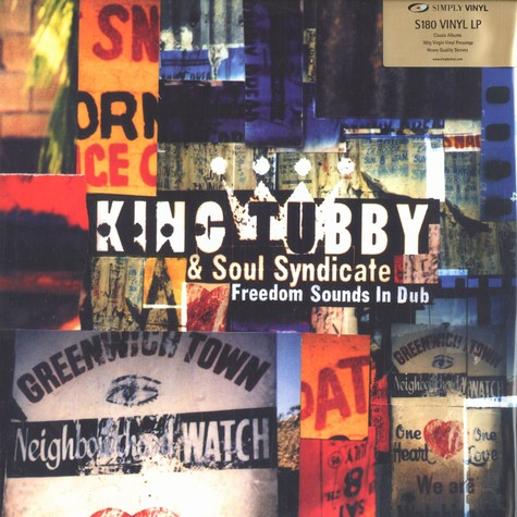 King Tubby & Soul Syndicate - Freedom sounds in dub