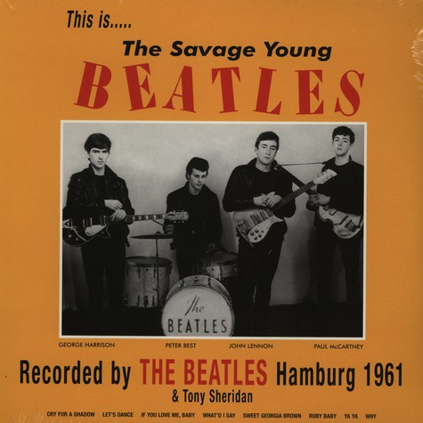 Beatles, The - This is... the savage young Beatles